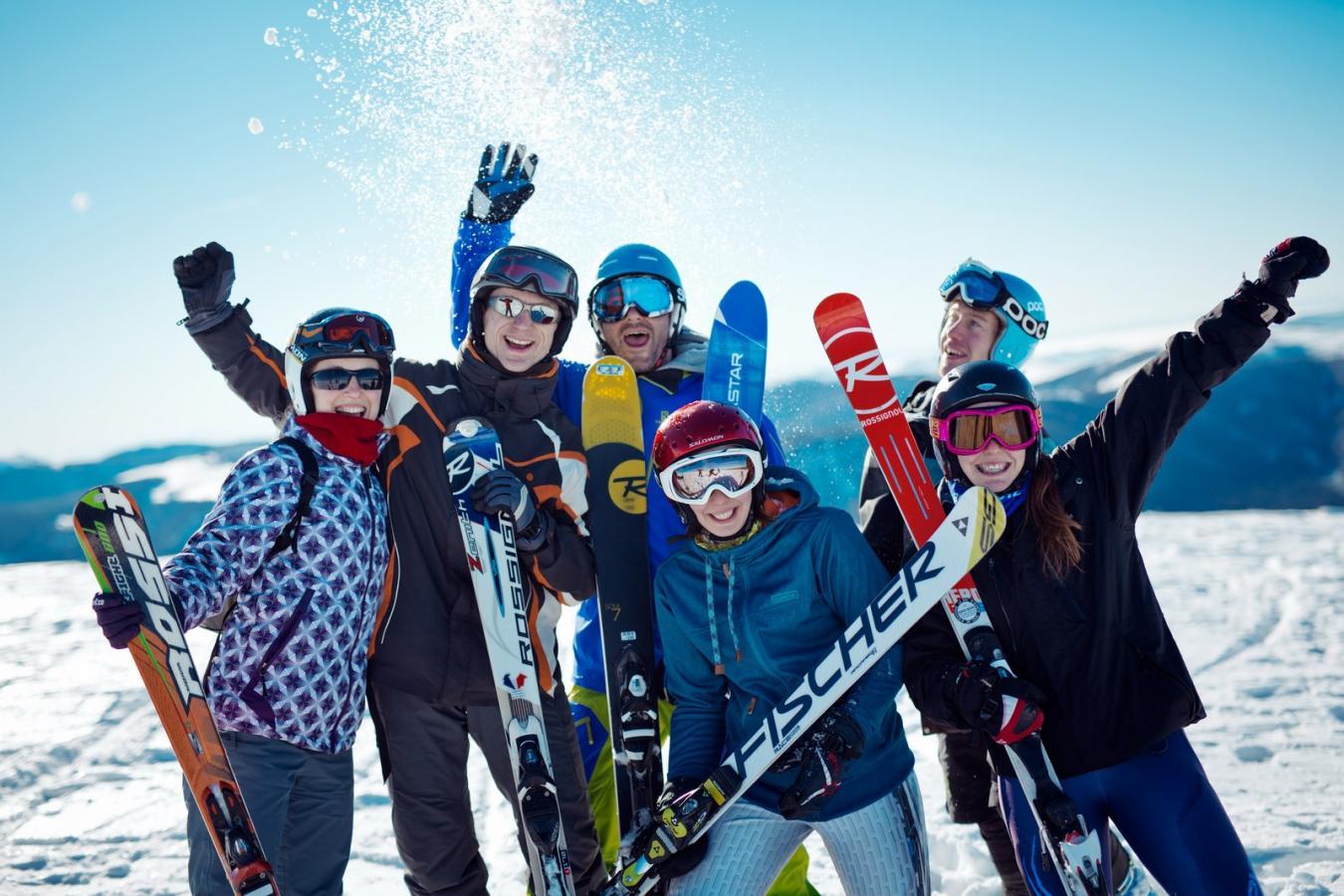 Du ski au Nouvel An !