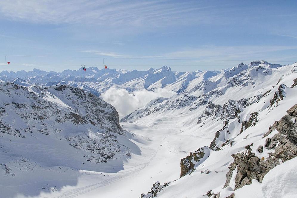 La plus haute tyrolienne du monde