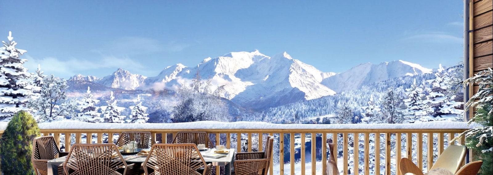 Les Fermes du Mont-Blanc à Combloux