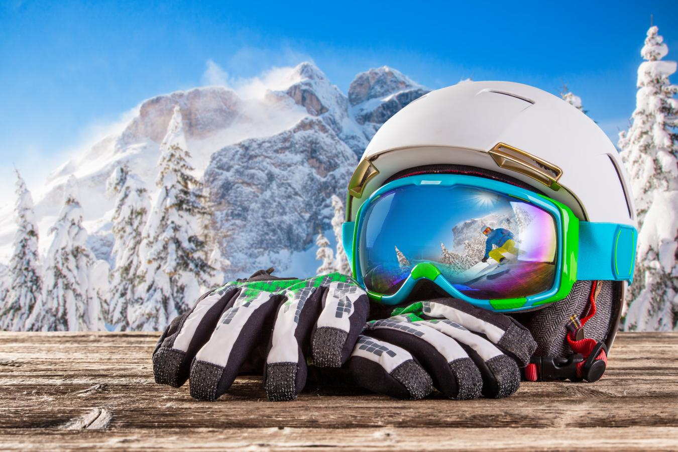Lunettes de soleil au ski