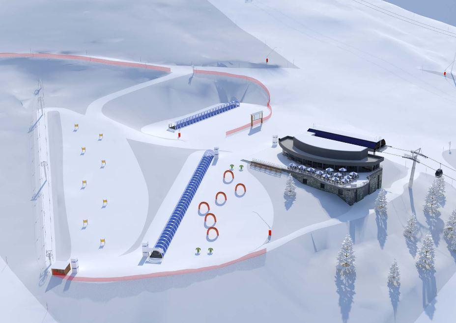Nouveautés aux Arcs pour l'hiver 2022