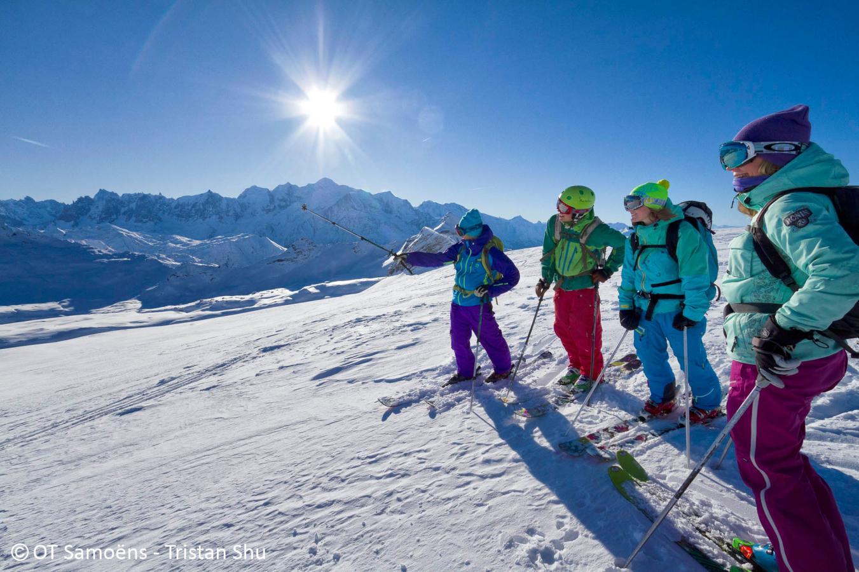 Nouveautés du domaine skiable Grand Massif