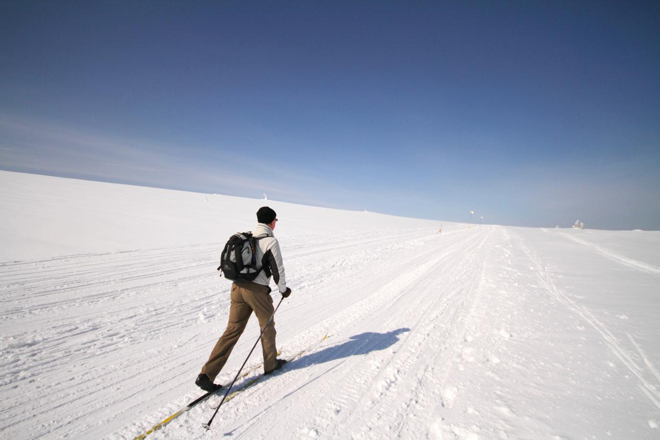 Où faire du ski de fond en avril ?