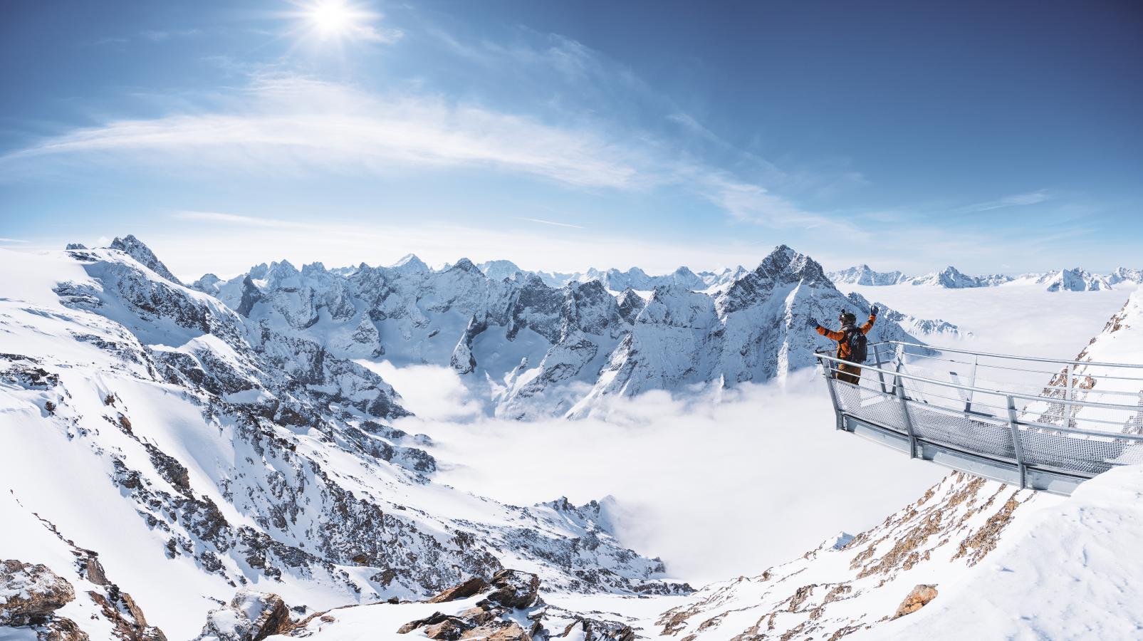 Pourquoi venir aux 2 Alpes en hiver ?