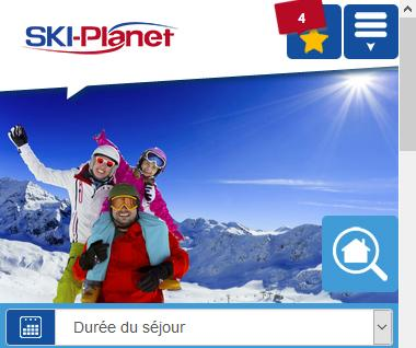 Nouveau : site mobile Ski-Planet.com