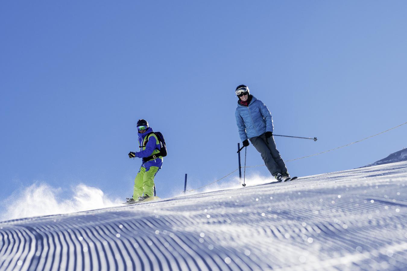 Top départ pour skier aux 2 Alpes cet hiver