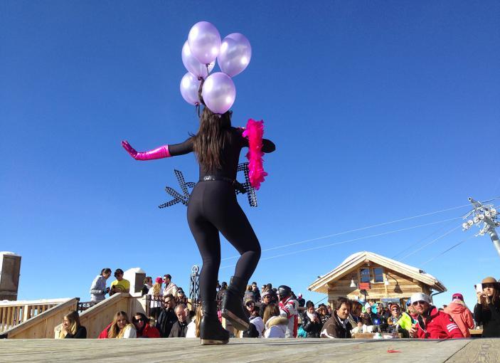 Découvrez la Folie Douce en station de ski