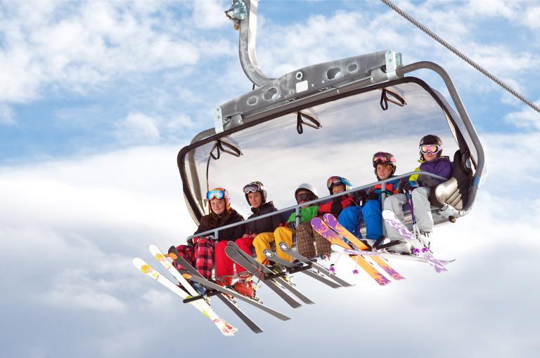 Le ski, c'est plutôt week-end ou semaine ?