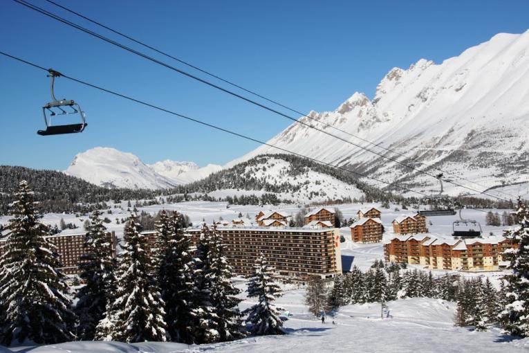 Le ski en famille à SuperDévoluy
