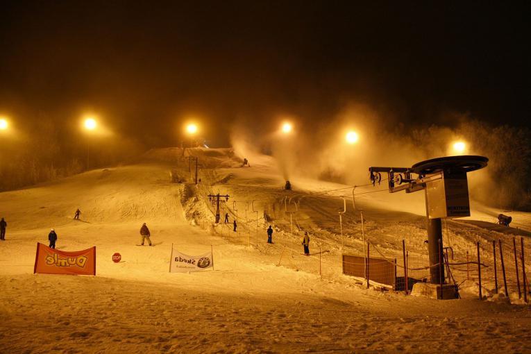 Le ski nocturne