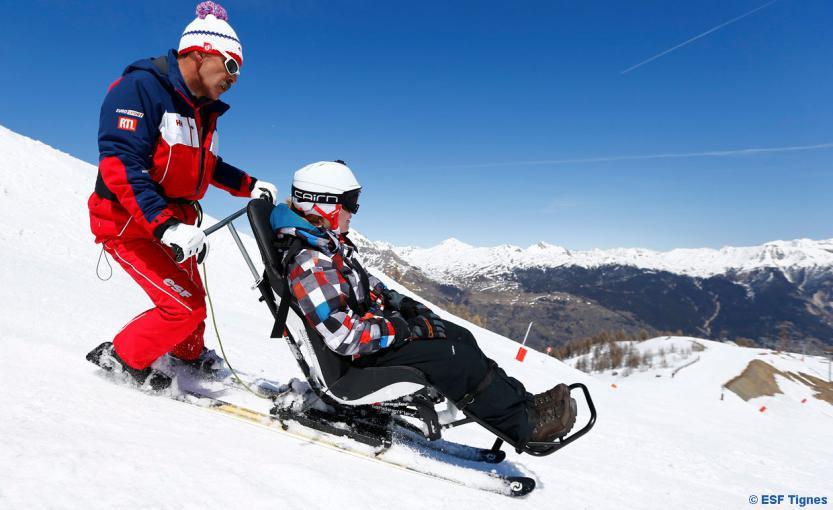 Le Ski pour Tous : Handiski & Taxi-ski