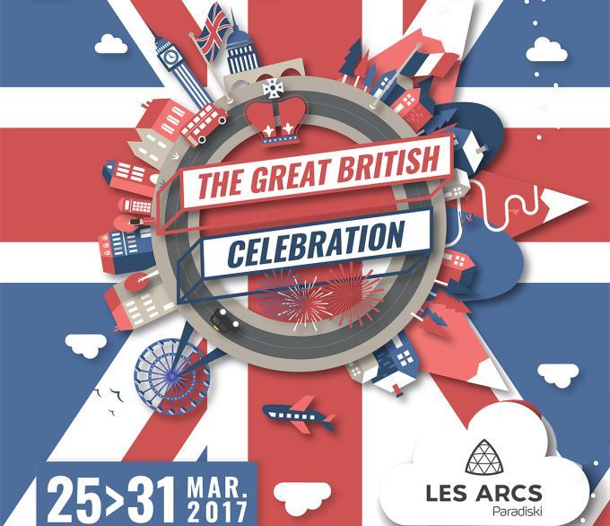 Les Arcs fêtent la Grande Bretagne