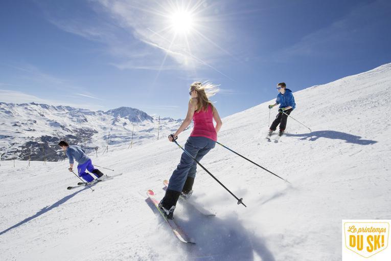 Réservez votre week-end au ski en mars !
