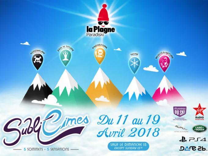 Sublicimes 2018 à La Plagne