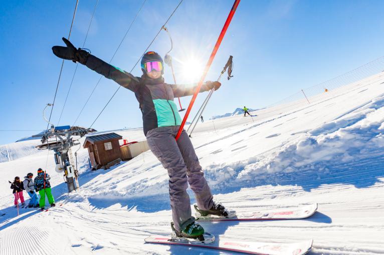 Top 5 des bonnes raisons d'apprendre le ski à la Toussuire - les Sybelles