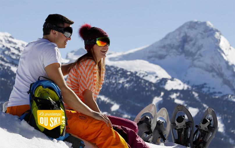 Un séjour au ski inoubliable dans les Alpes en avril