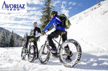 Avoriaz et le vélo à assistance électrique