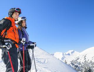 Janvier au ski, c'est tout un programme !