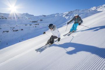L'état d'enneigement des domaines skiables