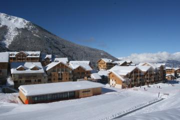 Ski en famille aux Orres