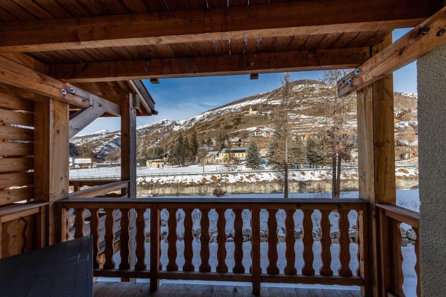 Location au ski Les Balcons du Viso - Abriès - Balcon