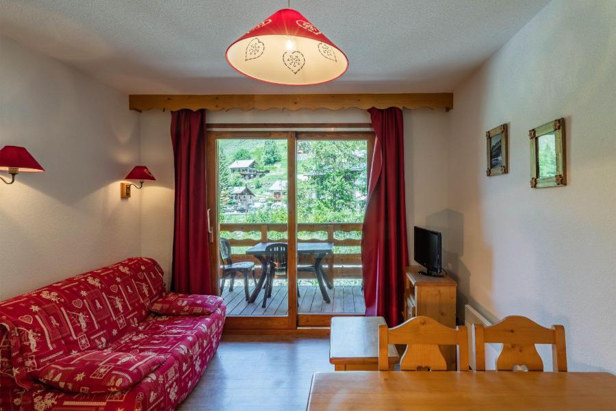 Location au ski Les Balcons du Viso - Abriès - Coin séjour
