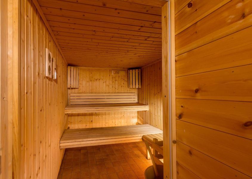 Location au ski Les Balcons du Viso - Abriès - Sauna