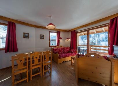 Soggiorno sugli sci Les Balcons du Viso - Abriès - Angolo soggiorno