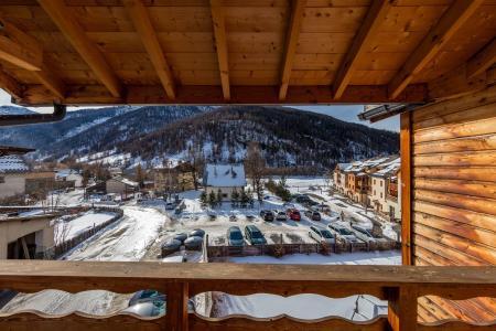 Soggiorno sugli sci Les Balcons du Viso - Abriès - Balcone