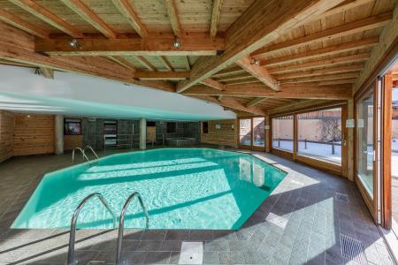 Location au ski Les Balcons Du Viso - Abriès - Piscine