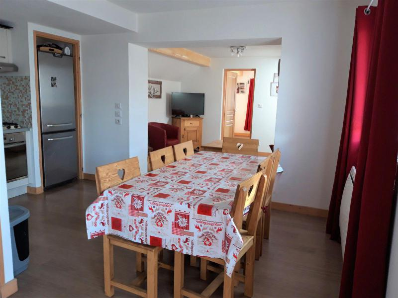 Аренда на лыжном курорте Апартаменты 4 комнат 8 чел. - Chalet le Mont Emy - Albiez Montrond - Столова&