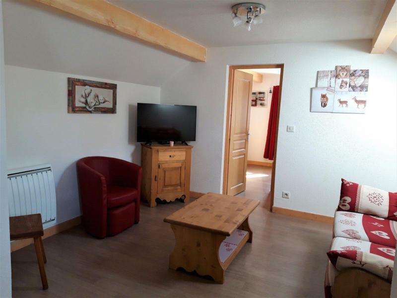 Аренда на лыжном курорте Апартаменты 4 комнат 8 чел. - Chalet le Mont Emy - Albiez Montrond - Салон