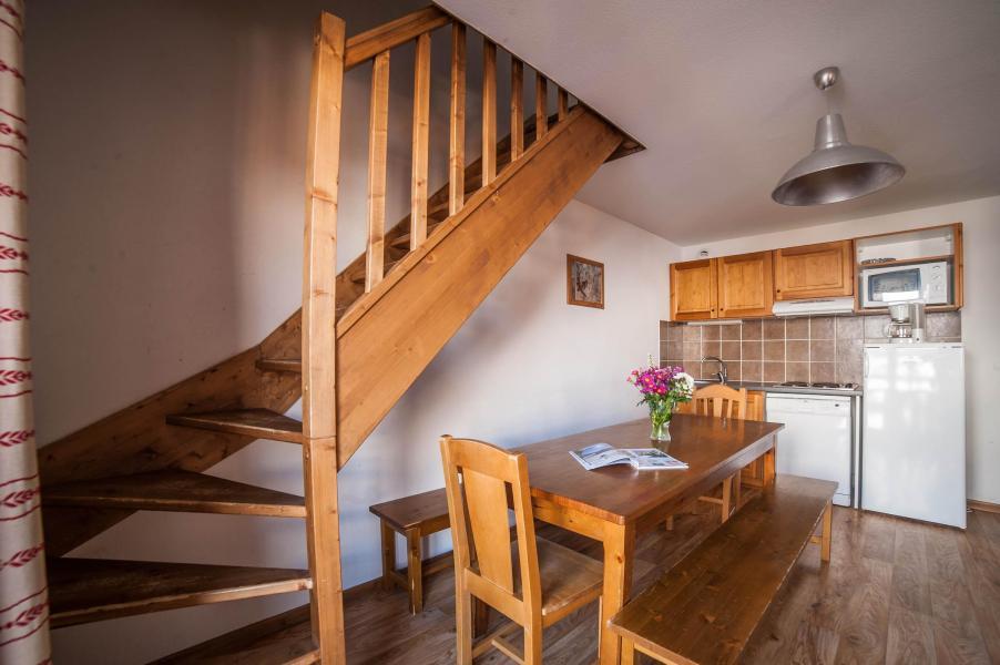 Аренда на лыжном курорте Les Chalets du Hameau des Aiguilles - Albiez Montrond - Кухня