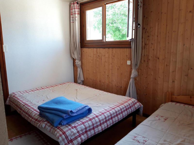 Аренда на лыжном курорте Апартаменты 2 комнат 5 чел. (2) - Résidence l'Ancolie - Albiez Montrond - Двухспальная кровать