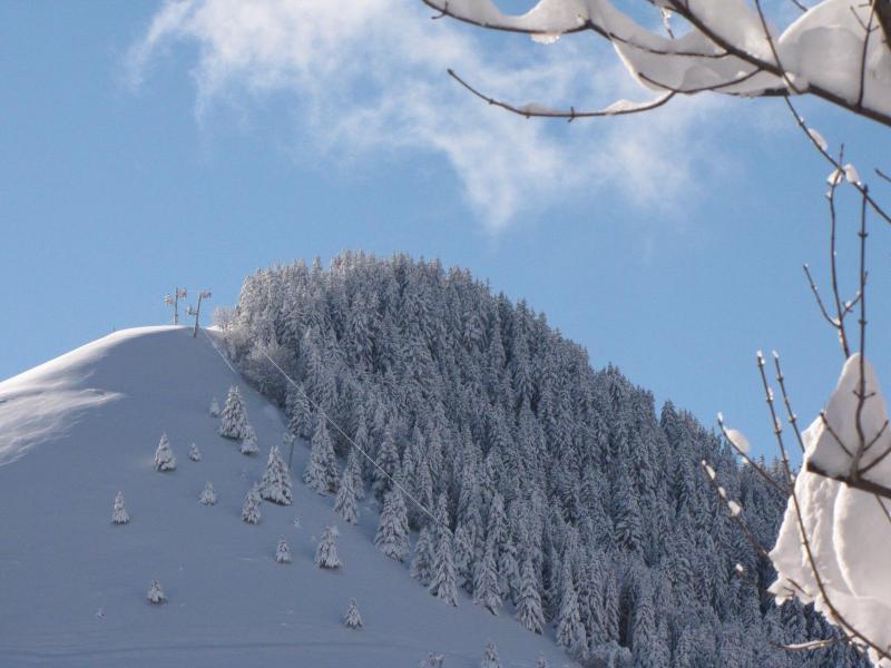 Location au ski Résidence le Hameau des Aiguilles - Albiez Montrond - Extérieur hiver