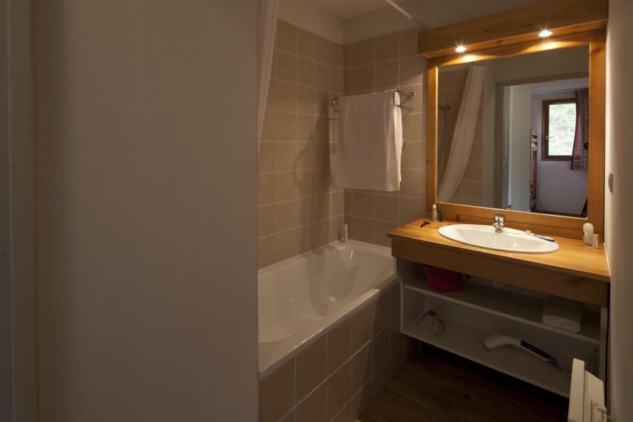 Rent in ski resort Résidence le Hameau des Aiguilles - Albiez Montrond - Bath-tub