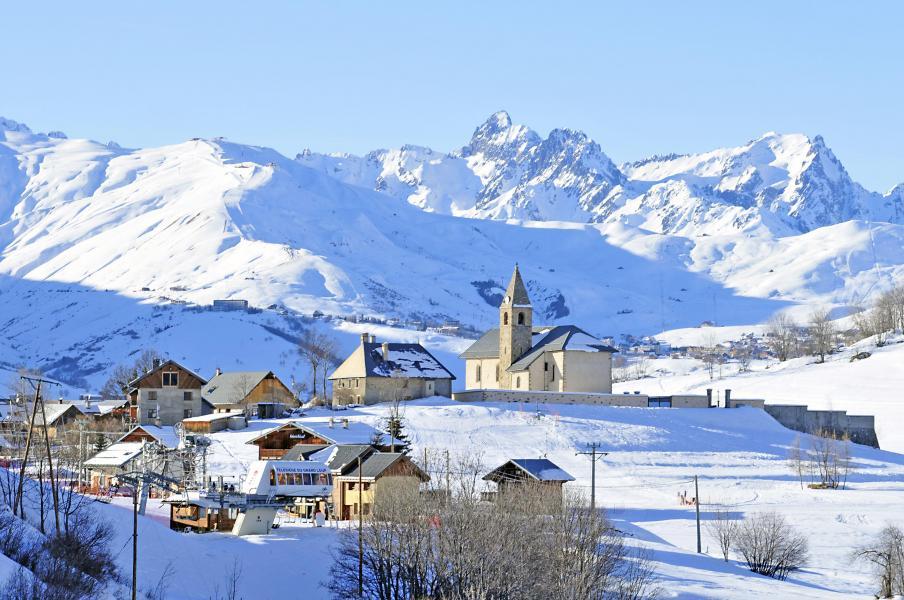 Location au ski Résidence le Relais des Pistes - Albiez Montrond - Extérieur hiver