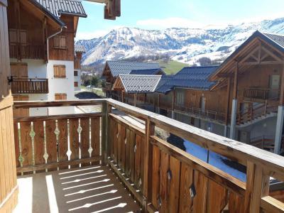 Аренда жилья Albiez Montrond : Le Hameau des Aiguilles зима