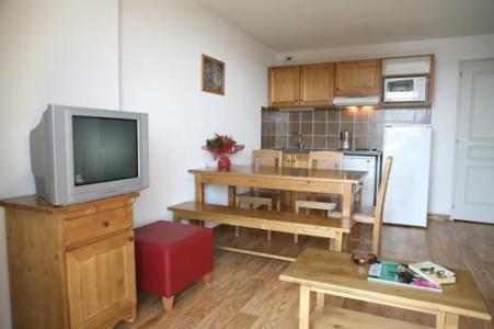 Location au ski Appartement 2 pièces 4-6 personnes - Les Chalets Du Hameau Des Aiguilles - Albiez Montrond - Coin séjour