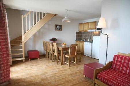 Location au ski Appartement duplex 3 pièces 8-10 personnes - Les Chalets Du Hameau Des Aiguilles - Albiez Montrond - Séjour