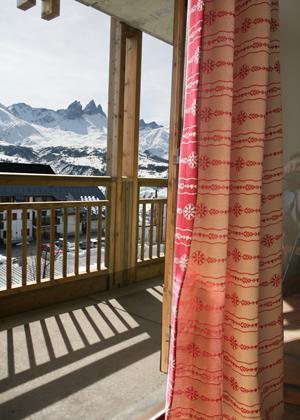 Location au ski Les Chalets Du Hameau Des Aiguilles - Albiez Montrond - Balcon