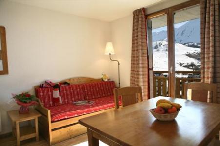 Location au ski Studio 2-4 personnes - Les Chalets Du Hameau Des Aiguilles - Albiez Montrond - Coin repas