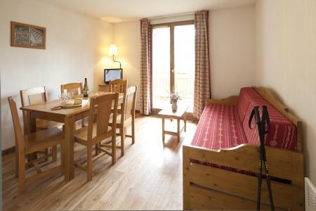 Rent in ski resort Résidence le Hameau des Aiguilles - Albiez Montrond - Living room