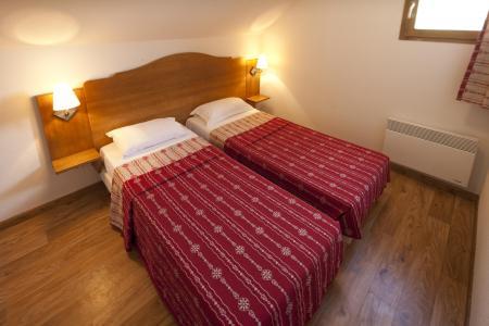 Аренда на лыжном курорте Résidence le Hameau des Aiguilles - Albiez Montrond - Односпальная кровать