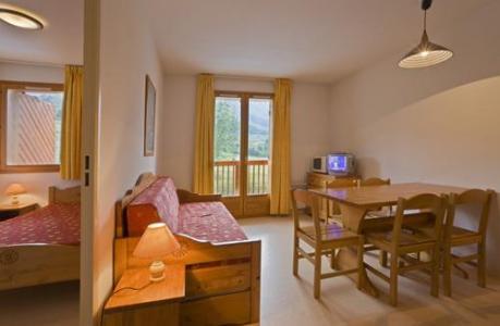 Location au ski Appartement 2 pièces cabine 6 personnes - Residence Le Relais Des Pistes - Albiez Montrond - Séjour