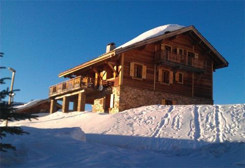 Ski en mars Chalet Des Neiges