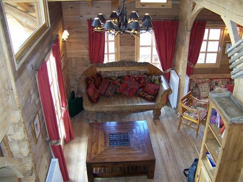 Location au ski Chalet duplex 7 pièces 12 personnes - Chalet Melusine - Alpe d'Huez - Banquette