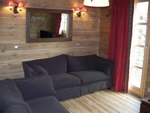 Location au ski Chalet duplex 7 pièces 12 personnes - Chalet Melusine - Alpe d'Huez - Canapé