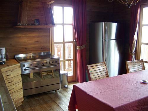 Location au ski Chalet duplex 7 pièces 12 personnes - Chalet Melusine - Alpe d'Huez - Cuisine
