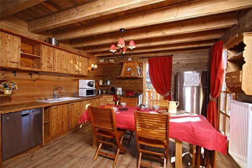 Location au ski Chalet duplex 7 pièces 12 personnes - Chalet Melusine - Alpe d'Huez - Salle à manger
